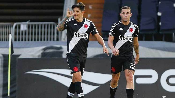 20º - Vasco: 5 vitórias, 6 empates e 2 derrotas em 13 jogos / 53,8% de aproveitamento