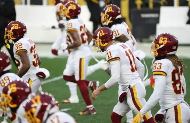 20º Washington Football (5-7) - A cultura vai mudando passo a passo, com uma comissão técnica boa e jovens talentosos.