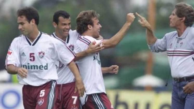 2001 - 4º - O Fluminense ficou em primeiro na Taça Guanabara, mas perdeu a final para o Flamengo nos pênaltis. Na Taça Rio, apenas o sexto lugar, ficando fora da decisão.
