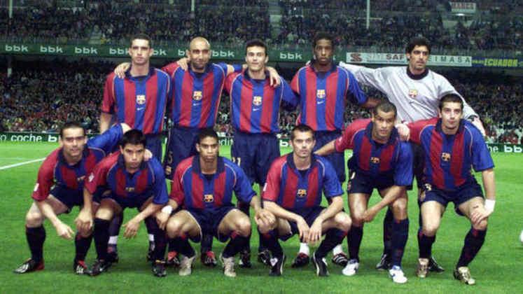 2001/02 - Primeiro do Grupo F - Eliminado nas semifinais para o Real Madrid
