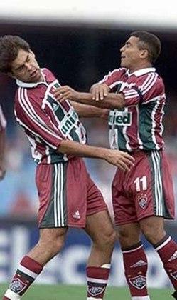 2002 - São Paulo 6 x 0 Fluminense - No jogo pelo Brasileirão, que ficou marcado pela agressão de Romário ao zagueiro Andrei, companheiro de Flu, o Tricolor Paulista venceu com gols de Luis Fabiano (2), Julio Baptista, Kaká, Régis e Leandro Amaral.
