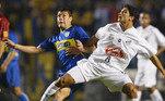 2003: Santos x Boca Juniors (campeão)