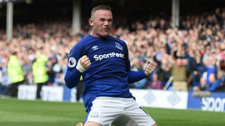 2004 - Rooney (Everton) - O atacante Wayne Rooney despontou no Everton, mas seu auge foi mesmo no Manchester United, onde ganhou todos os títulos possíveis. Atualmente, com 35 anos, defende o Derby County.