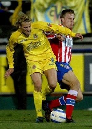 2004/2005 - Diego Forlán - Villarreal - 25 gols