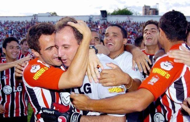 2005 - Campeão - O último título do Paulistão conquistado pelo São Paulo. Em torneio por pontos corridos, o Tricolor foi líder, com 45 pontos. Em 19 jogos, foram 14 vitórias, três empates e somente duas derrotas.