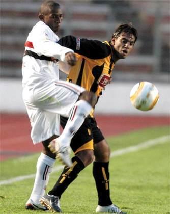 2005 - The Strongest (BOL) 3 x 3 São Paulo - Estreia cheia de gols na Libertadores de 2005. Danilo, Luizão e Grafite fizeram para o Tricolor, enquanto Cuba, Sosa e Escobar marcaram para o Tigre.