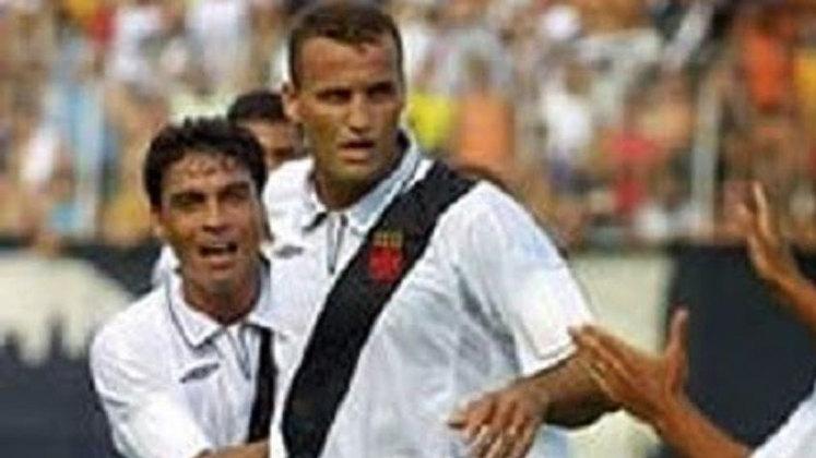 2005 - Vasco 2x1 Portuguesa - Campeonato Carioca -São Januário - Gols: Fabiano e Marco Brito (VAS). / Marcelão (POR).