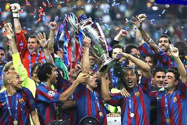 2005/06 - Primeiro no Grupo C - Campeão sobre o Arsenal