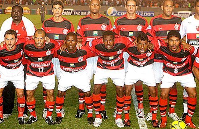 2007 -  29º título estadual do Flamengo - Vice: Botafogo