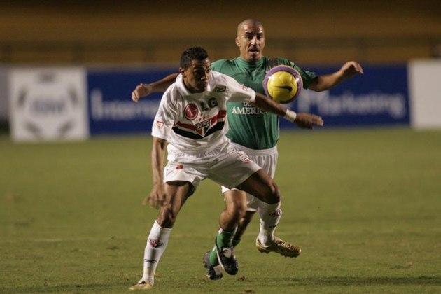 2007 - Audax Italiano (CHI) 0 x 0 São Paulo - Empate sem gols na estreia da Libertadores de 2007.