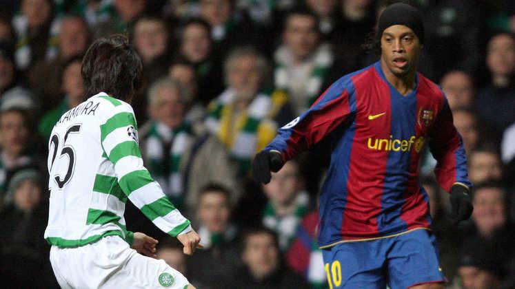 2007/08 - Primeiro no Grupo E - Eliminado nas semifinais para o Manchester United