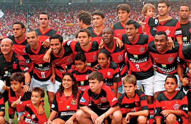 2008 -  30º título estadual do Flamengo - Vice: Botafogo