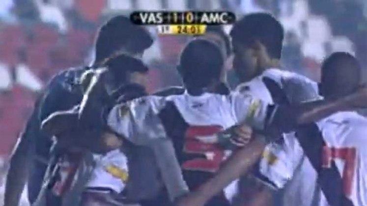 2008 - Americano 0x1 Vasco - Campeonato Carioca - São Januário - Gols: Morais.