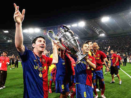 2008/09 - Primeiro no Grupo C - Campeão sobre o Manchester United
