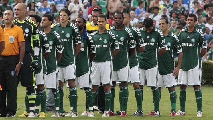 2009: DIFERENÇA: CINCO PONTOS. 1º: Palmeiras – 54 pontos – 15 vitórias, nove empates, cinco derrotas/ 2º: São Paulo – 49 pontos – 13 vitórias, 10 empates, seis derrotas.