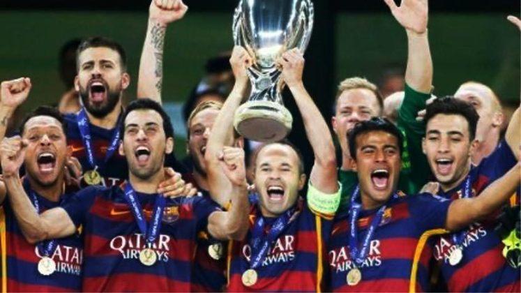2009 - O Barcelona sofreu mas derrotou o Shakhtar Donetsk: 1 a 0.