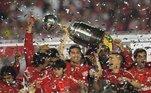 2010: Internacional (campeão) x Chivas Guadalajara-MEX