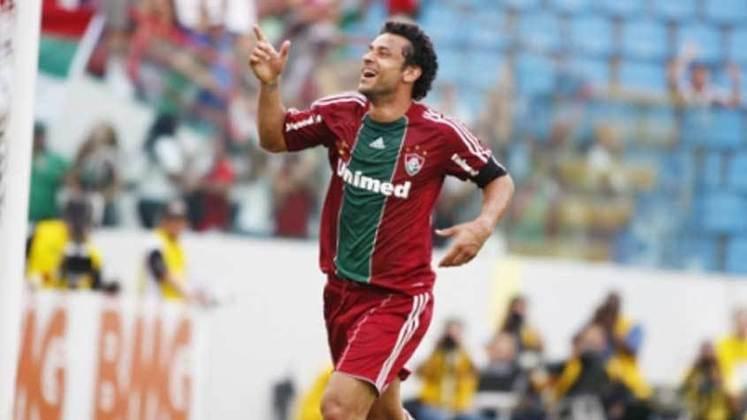 2010 - São Paulo 1 x 4 Fluminense, pelo Brasileiro - No ano do Tri, Fred marcou um dos gols da goleada que aproximou o Fluminense do título.