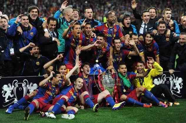 2010/11 - Primeiro no Grupo D - Campeão sobre o Manchester United