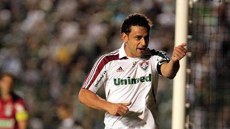 2011 - Figueirense 0 x 4 Fluminense, pelo Brasileirão - Contra a equipe catarinense, Fred marcava mais uma vez três gols em uma mesma partida.