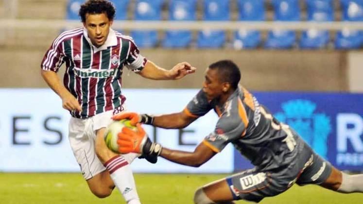 2011 - Fluminense 3 x 1 Duque de Caxias, pelo Carioca - Em mais um Hat-Trick, o artilheiro se consolidava como xodó da torcida tricolor.