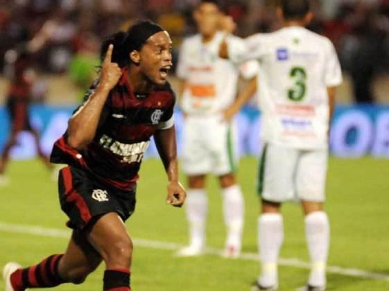 2011 - Fora de casa, em Alagoas, o Flamengo estreou com vitória por 3 a 0 em cima do Murici e eliminou o adversário logo de cara. Renato, Ronaldinho Gaúcho e Negueba marcaram os gols da vitória, que gerou classificação direta.