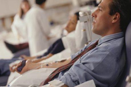 Nos dias frios, as pessoas tendem a doar menos sangue