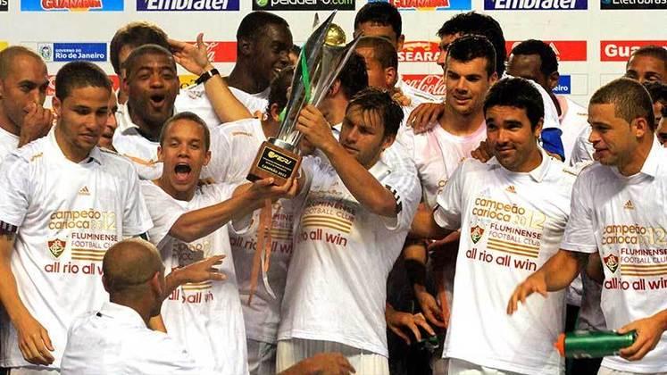 2012 - 1º - No último ano em que foi campeão, o Fluminense ficou em segundo no grupo na Taça Guanabara e foi campeão, batendo o Vasco. Na Taça Rio, o Tricolor ficou apenas em terceiro, atrás de Bangu e Vasco. Nas decisões do Estadual, porém, duas vitórias sobre o Botafogo para levantar a taça.