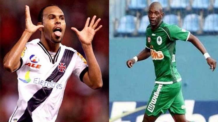 2012 – Alecsandro (Vasco) e Somália (Boavista): 12 gols cada