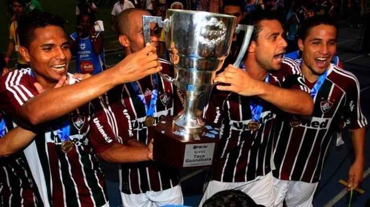 2012 - Fluminense 3 x 1 Vasco, pelo Carioca - Fred marcou dois gols na decisão da Taça Guanabara contra o Gigante da Colina.