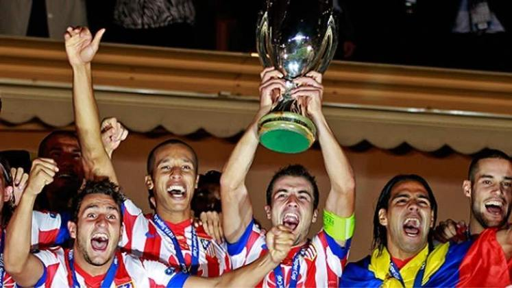 2012 - Sobrou na turma! O Atlético de Madrid fez 4 a 1 no Chelsea.
