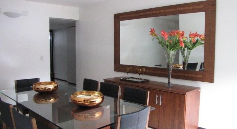 Interior de um apartamento funcional da Câmara dos Deputados