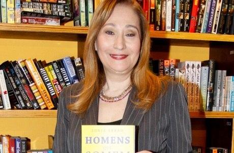 Sônia Abrão lançou recentemente livro Homens que Somem