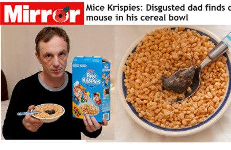 Cereal killer é isso aí!