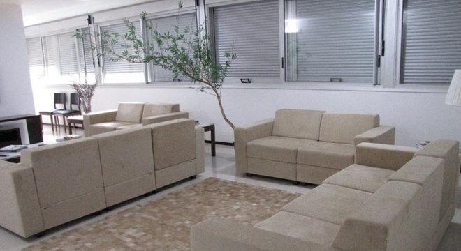 Interior de um apartamento funcional usado por deputado. Custos são arcados pelo contribuinte