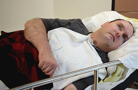 O canadense Scott Routley, de 39 anos, conseguiu dar respostas consideradas clinicamente relevantes durante ressonância