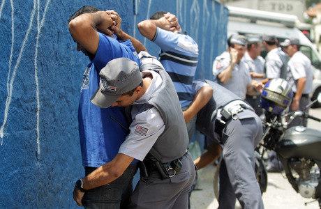 Ações da PM já prenderam mais de 70 suspeitos