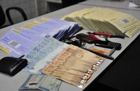 Suspeito já havia sacado R$ 87.500,00 de um caixa eletrônico na Penha