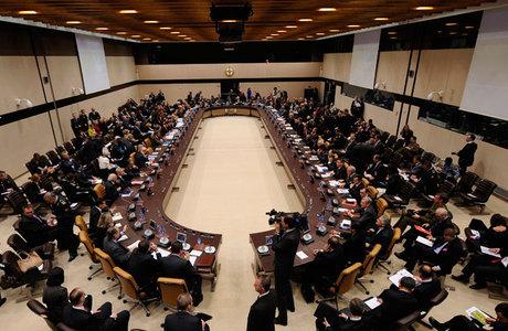 Os ministros de Relações Exteriores da Aliança Atlântica estão em Bruxelas para uma reunião de dois dias