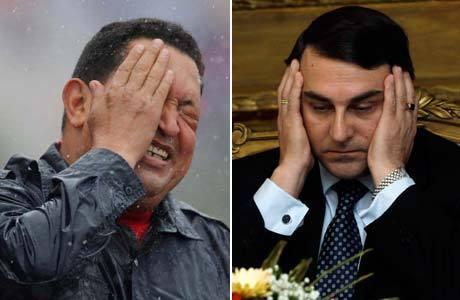 Hugo Chávez (Venezuela) e Federico Franco (Paraguai) estão à frente dos países mais corruptos da América do Sul