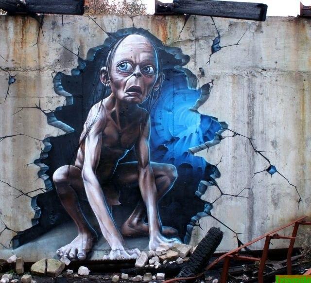 Grafiteiros Transformam Ruas Em Galerias De Arte Fotos