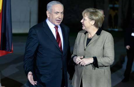 Netanyahu se encontra com Merkel nesta quarta-feira (5)