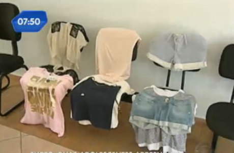 Duas adolescentes de 12 e 15 anos foram presas por roubar quatro lojas de roupa na cidade de Franca