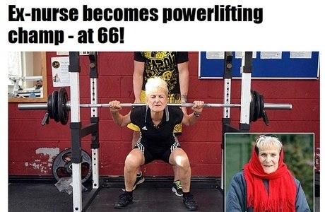 Quando sua avó é mais forte que você, a coisa está feia, meu amigo!
