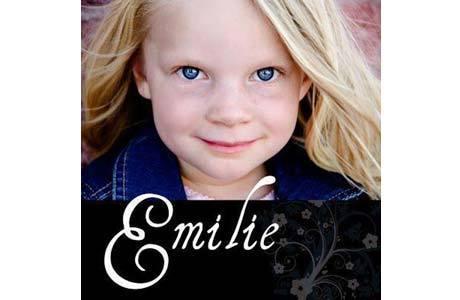 Emilie Parker, de seis anos, é uma das vítimas do massacre na escola Sandy Hook