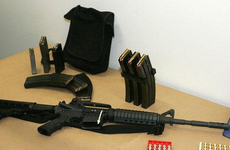 Rifle Bushmaster AR-15 mesmo modelo utilizado no massacre em uma escola em Connecticut na semana passada