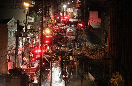 Segundo a prefeitura, ao menos sete pessoas morreram no acidente