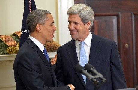 Obama anunciou ontem Kerry como o chefe da diplomacia americana