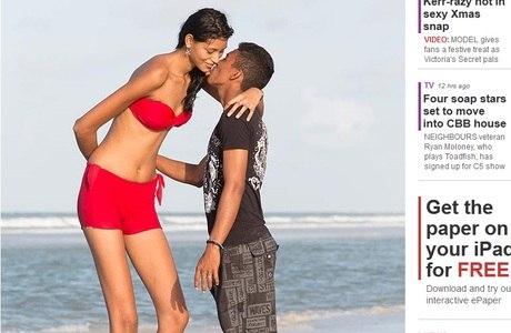 Adolescente mais alta do mundo mora no Pará e tem 2,06 m