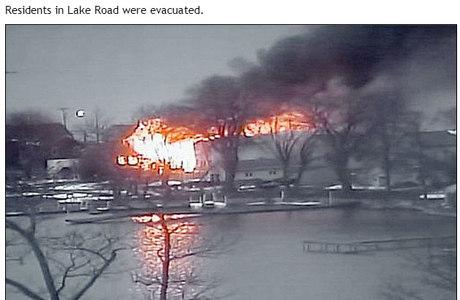 A causa do incêndio ainda é desconhecida